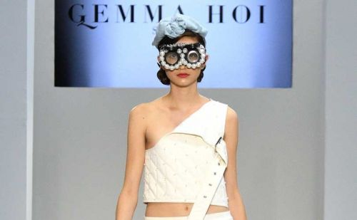 Gemma Hoi makes factory workers fashionable at New York Fashion Week