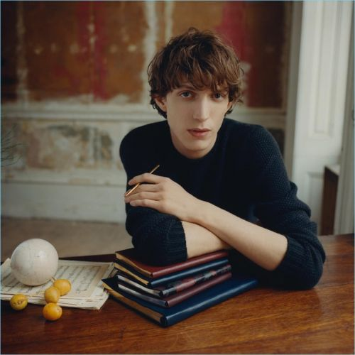 Xavier Buestel is Chic for Smythson Fall '18 Campaign