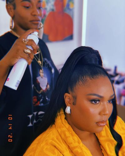 All The Details Behind Lizzo's Billboard Music Awards Hair