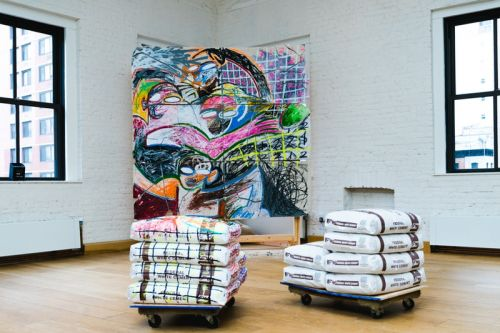 Reginald Sylvester II Unveils New Artwork at the HYPEBEAST Magazine Issue 21 Launch Party
