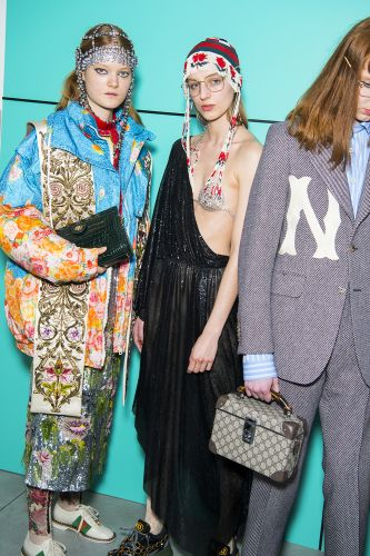 Gucci Present Their Joint Women's And Men's Collections For AW18