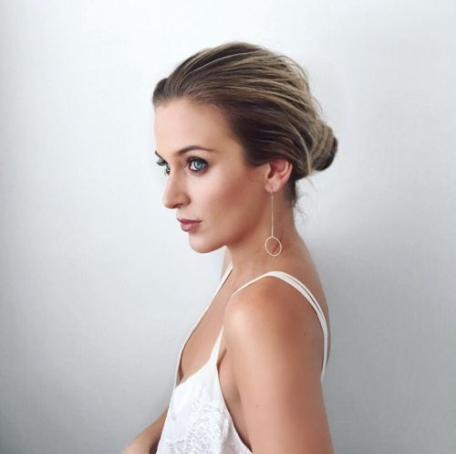Festive Season Hair with Chloe Zara: ghd platinum Modern Ballerina Bun