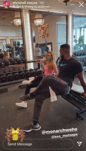 Off The Market! Chrishell Stause Is Dating 'DWTS' Pro Keo Motsepe - See Pics