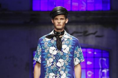 DSquared2 Use a Wide Range of Patterns In Its 2018 Spring/Summer Collection