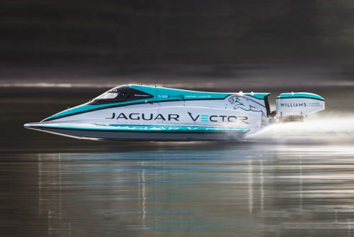 Jaguar Vector Racing's V20E Breaks World Electric Speed Record