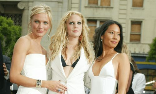 Great Outfits in Fashion History: Cameron Diaz, Drew Barrymore and Lucy Liu in Summer Whites