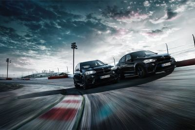 BMW Unveils Badass 'Black Fire' Editions of the X5 M & X6 M