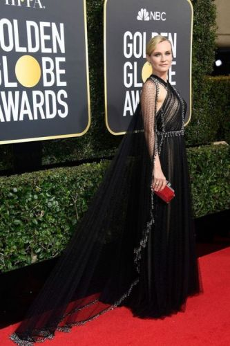 The Best Dressed Celebrities At the Golden GlobesDiane Kruger