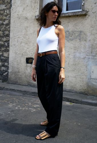 The 5 Daring New Trends This Chic Parisian Has Added to Her Wardrobe