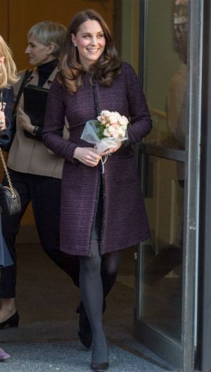 Kate Middleton Recycles Tweed Maternity Coat: Shop It Under $500