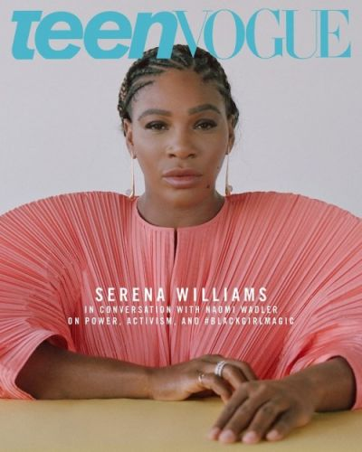 Serena Williams in Conversation With Naomi Wadler on Power