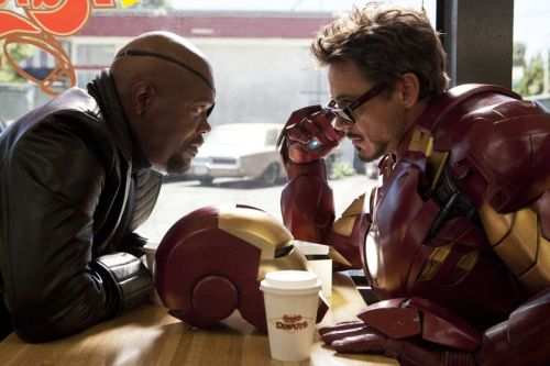 "Marvel's 'Iron Man' Post-Credit Scene Was ""a Lark"""
