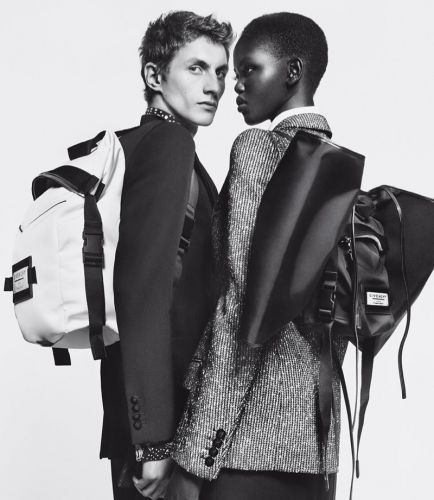 Henry & Adut Couple Up for Givenchy '19 'Winter of Eden' Campaign
