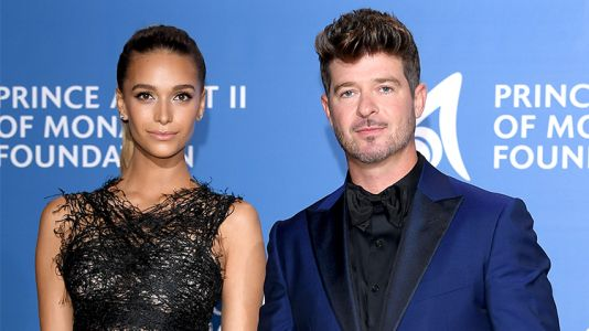 Robin Thicke and April Love Geary Welcome Their New Daughter - Meet Mia Love!