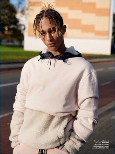 Nino North Rocks Sporty Styles for Indie Magazine