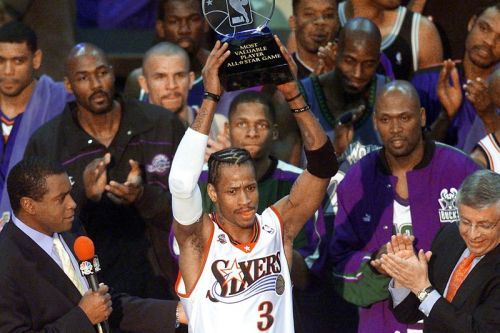 """Allen Iverson On the Legendary 2001 NBA All-Star Game and His Reebok Question Mid """"Why Not Us?"""""""