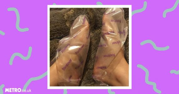 Is using Footner Exfoliating Socks to get rid of dead skin on your feet worth the faff?