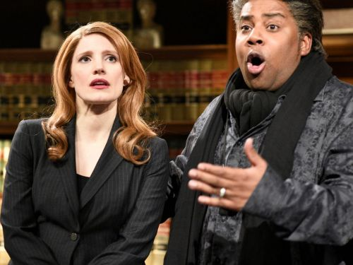 Jessica Chastain's SNL Hosting Gig Was So Political That The Cast Had To Talk Her Down