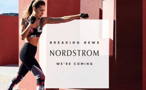 Sweaty Betty to launch in 25 Nordstrom locations next month