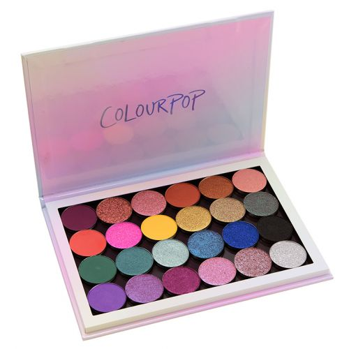 30 x ColourPop Eyeshadow Quad Ideas