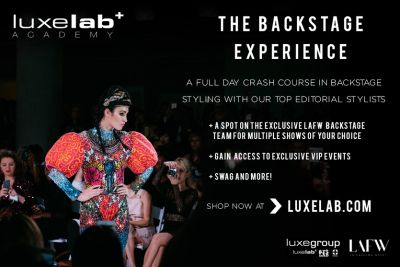 Win the Backstage LA Fashion Week Experience with LuxeLab