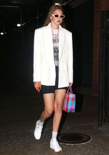 Gigi Hadid Stepped Out in $38 Shorts and a $55 Bag-Do We Have Your Attention?