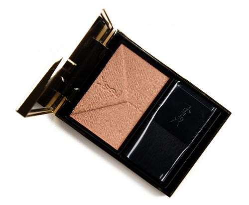 YSL Bronze Gold Couture Highlighter Review & Swatches