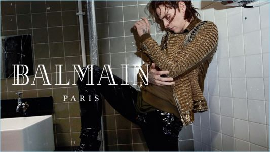 Sergei Polunin, James Bay + More Star in Balmain Fall '18 Campaign