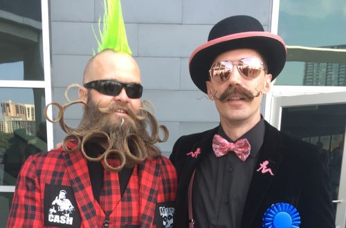 Winners Take It All At The World Beard and Moustache Championships 2017