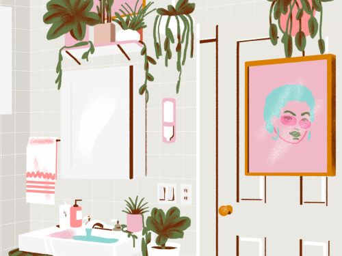 Why Do So Many Millennial Women's Bathrooms Look The Same?