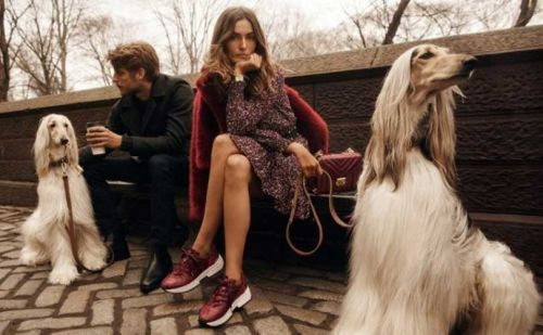 Michael Kors goes uptown chic for fall campaign