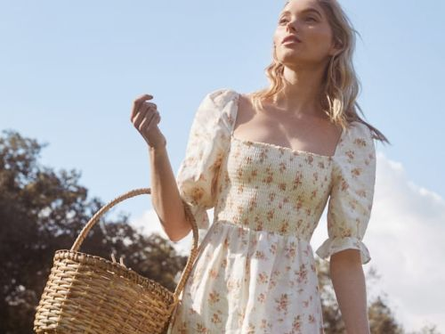 Reformation's Big Sale Is A Gold Mine Of Transitional Dresses