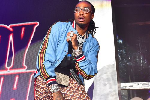 Quavo Ignites DJTAKEOFFCHALLENGE With a Huncho Gang Chain Giveaway