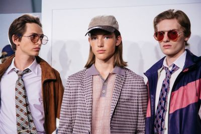 Fendi serves up executive realness for SS18 menswear show