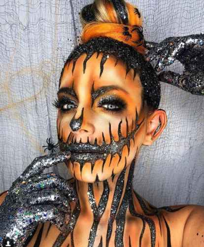 These Halloween Makeup Ideas From Instagram Are Scary-Good