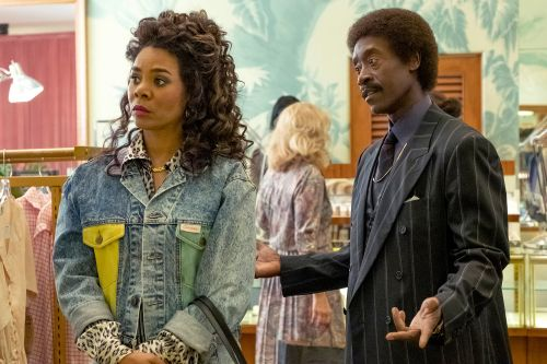 Regina Hall isn't fazed by the nasty dudes in 'Black Monday'