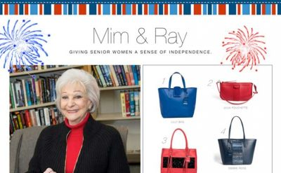Mim & Ray launch Fourth of July line to benefit seniors