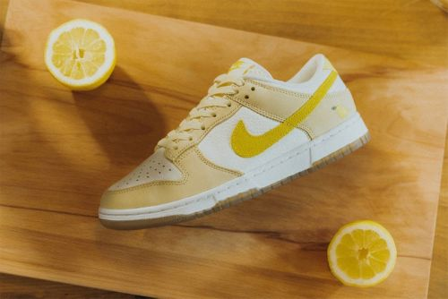 "Here's a Closer Look at the Nike Dunk Low ""Lemon Drop"""