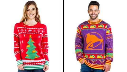 Taco Bell Has A New Holiday Clothing Collection And It's Making Us Feel Extra Saucy For The Holidays
