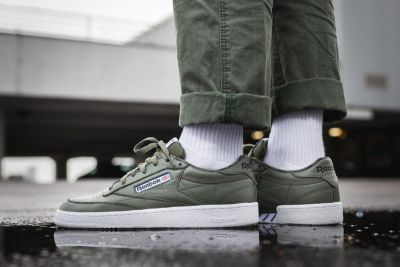 Reebok Unveils the Club C 85 Overbranded in 'Hunter Green'