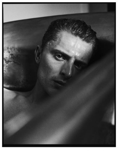 Max Rendell Takes a Soak with Man About Town