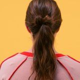 How to Give Your Simple Ponytail a French-Girl Twist