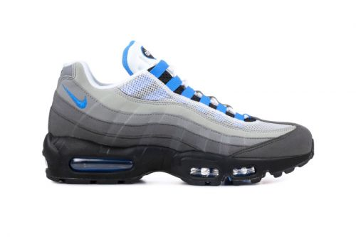 """Nike Set to Re-Release OG Air Max 95 """"Crystal Blue"""" Colorway"""