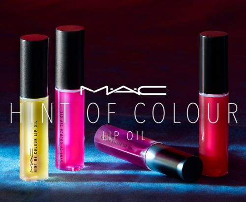 MAC Hint of Colour Lip Oils Launch March 2018