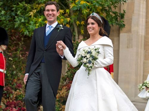 Princess Eugenie's Royal Wedding Cake Was A Red Velvet Celebration Of Fall