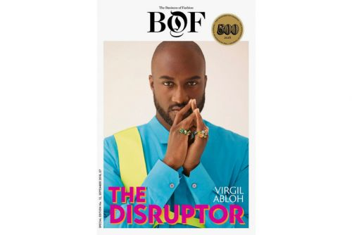 "Virgil Abloh to Cover 'Business of Fashion' "" BoF500"" Magazine"