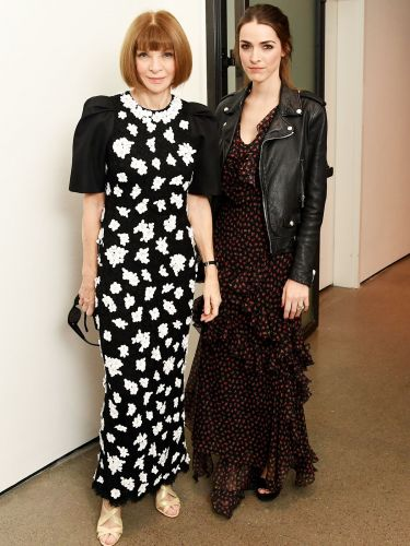 Anna Wintour and Her Daughter Wore the Chicest Coordinated Red Carpet Looks