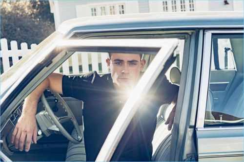 Dacre Montgomery Embraces Cool Summer Style for Reserved Campaign