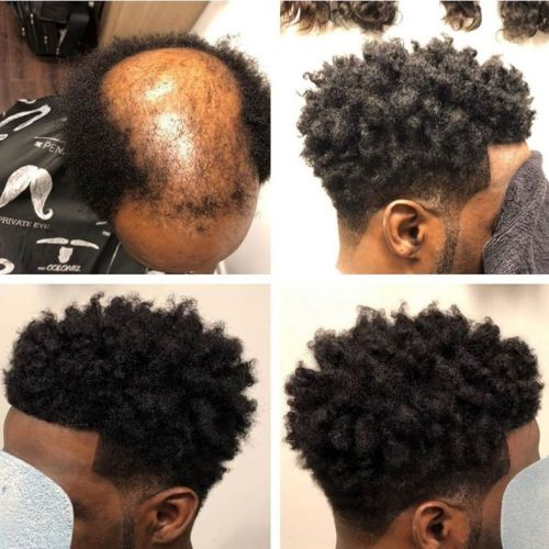 Lifting the lid on 'male weaves' - the growing hair trend for men