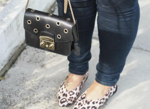 OOTD: Transitional Dressing With The Colour Of The Season & Leopard Print Shoes